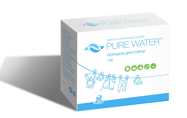 """""""Ми&Ко"""". Стиральный порошок Pure Water, 1 кг"""