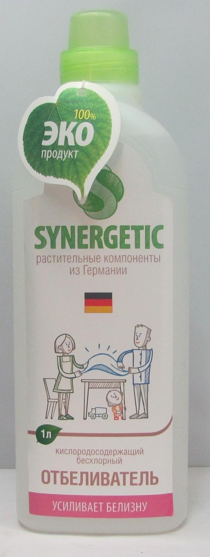 Synergetic. Средство отбеливающее для стирки, 1 л