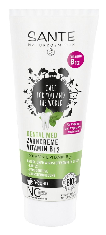 SANNE. Зубная паста с витамином В12 и  фтором, 75 мл