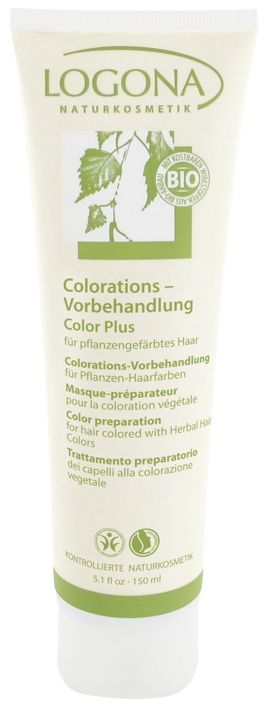 Logona. Color Plus. Средство для подготовки волос к окрашиванию, 150 мл