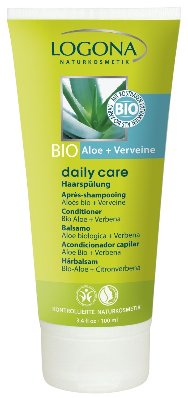 Logona. Daily Care. Кондиционер для волос с биоалоэ и вербеной, 100 мл