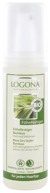 Logona. Натуральный спрей для укладки волос с экстрактом бамбука, 150 мл