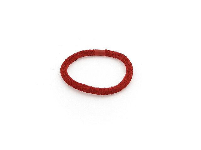 Резинка для волос красная