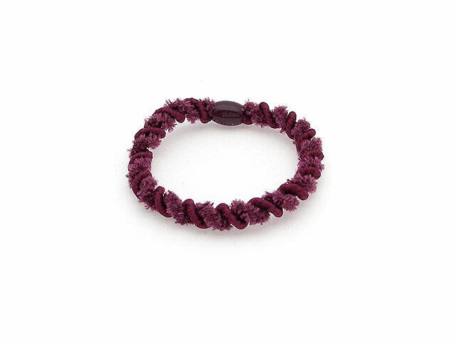 Резинка для волос фиолетовая