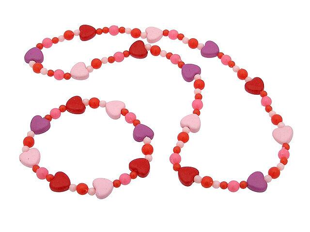 Набор аксессуаров розовый
