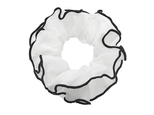 Резинка для волос белая
