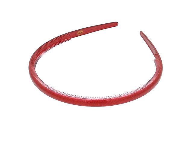 Ободок для волос красный