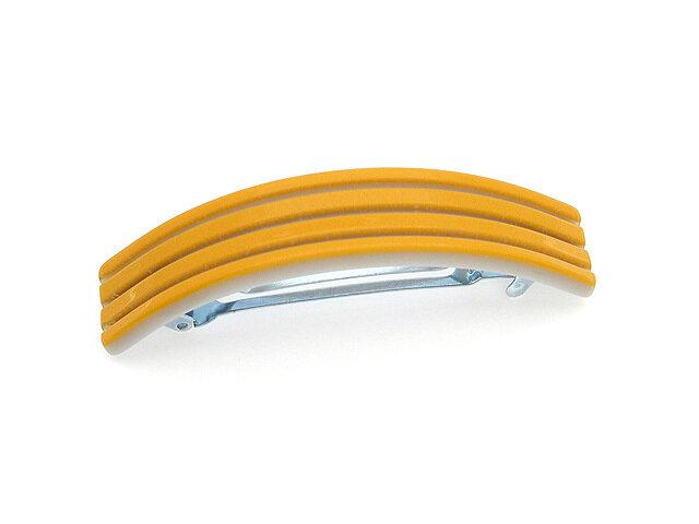 Заколка для волос желтая