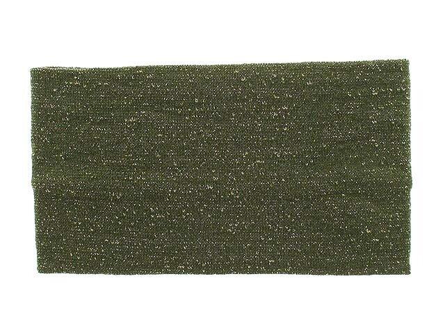 Повязка для волос зеленая