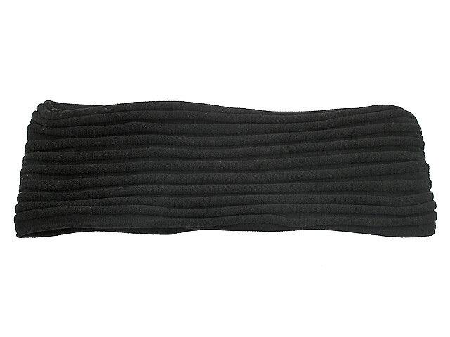 Повязка для волос черная