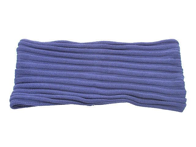 Повязка для волос синяя
