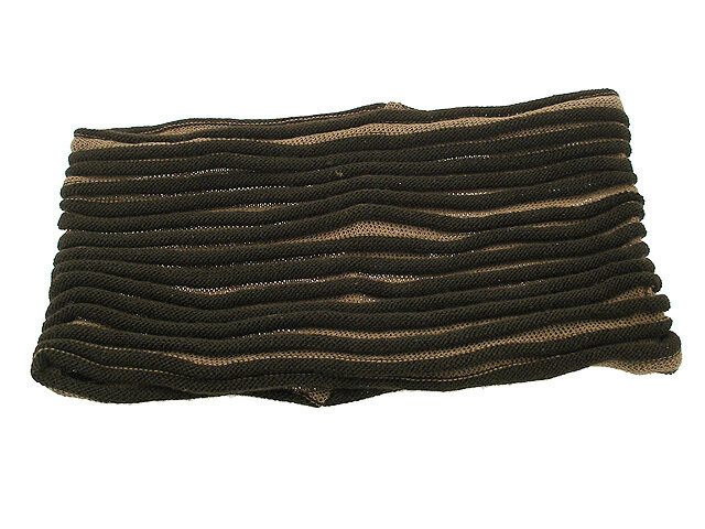 Повязка для волос коричневая
