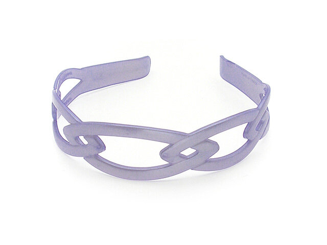 Ободок для волос фиолетовый