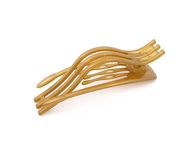 Зажим для волос золотой