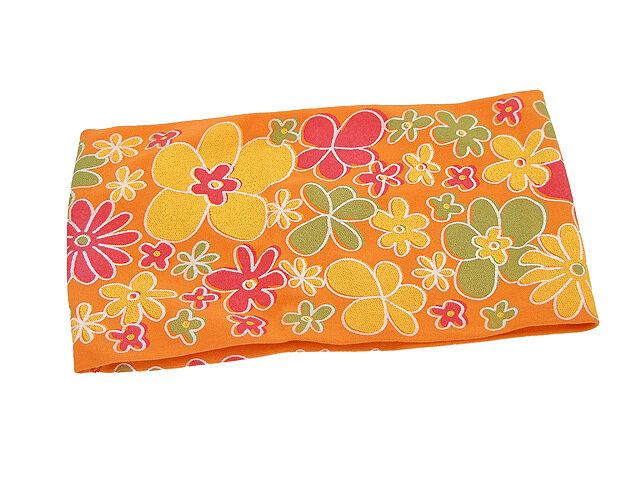 Повязка для волос оранжевая