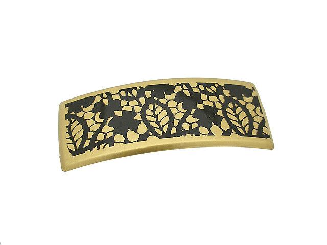 Заколка для волос золотая
