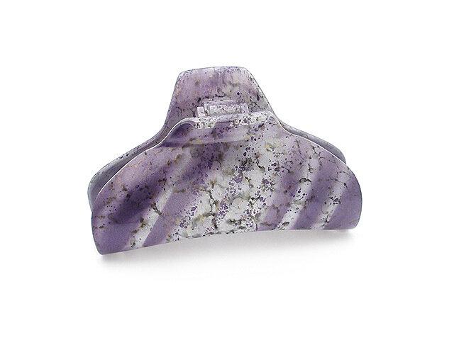 Зажим для волос фиолетовый