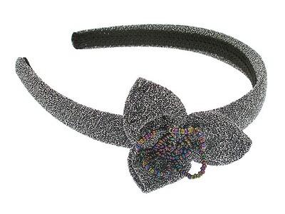 Ободок для волос серебряный