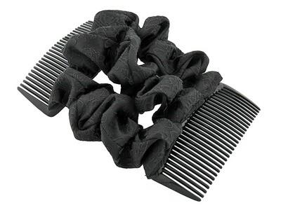 Гребень для волос черный