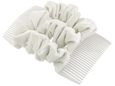 Гребень для волос белый