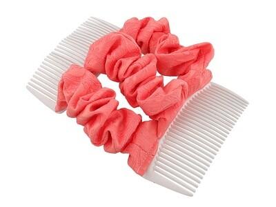 Гребень для волос розовый