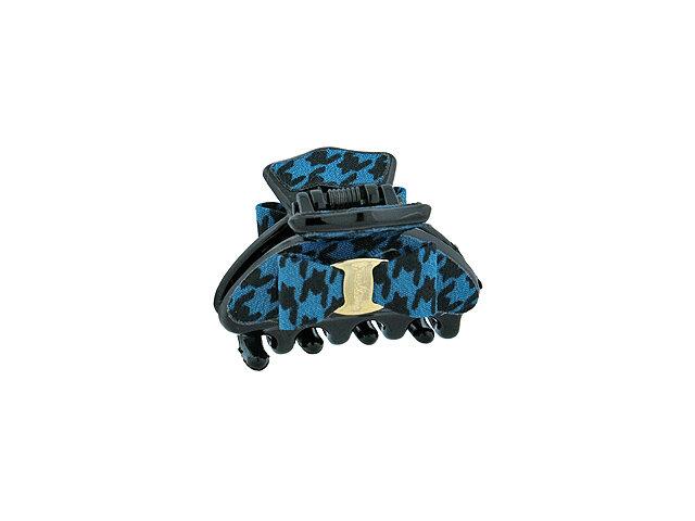 Зажим для волос мини синий