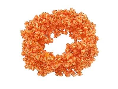 Резинка для волос оранжевая
