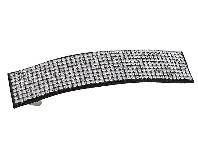 Заколка для волос серебряная