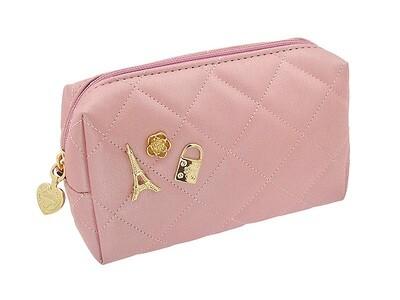 Сумочка для косметики розовая