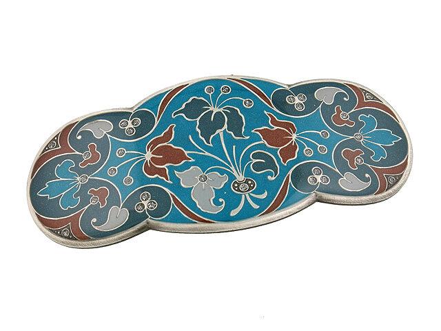 Заколка для волос Clara Bijoux синяя