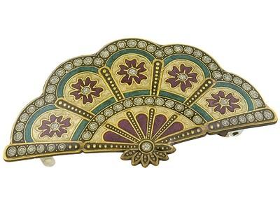 Заколка для волос Clara Bijoux золотая