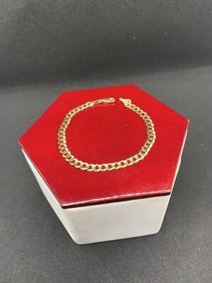 Curb Bracelet 10 Kt Gold