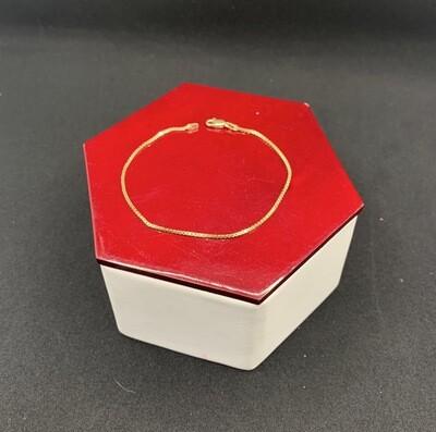 10 Kt Box Bracelet