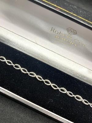 Diamond Bypass Bracelet
