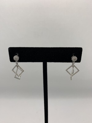 Geometric Diamond Dangle