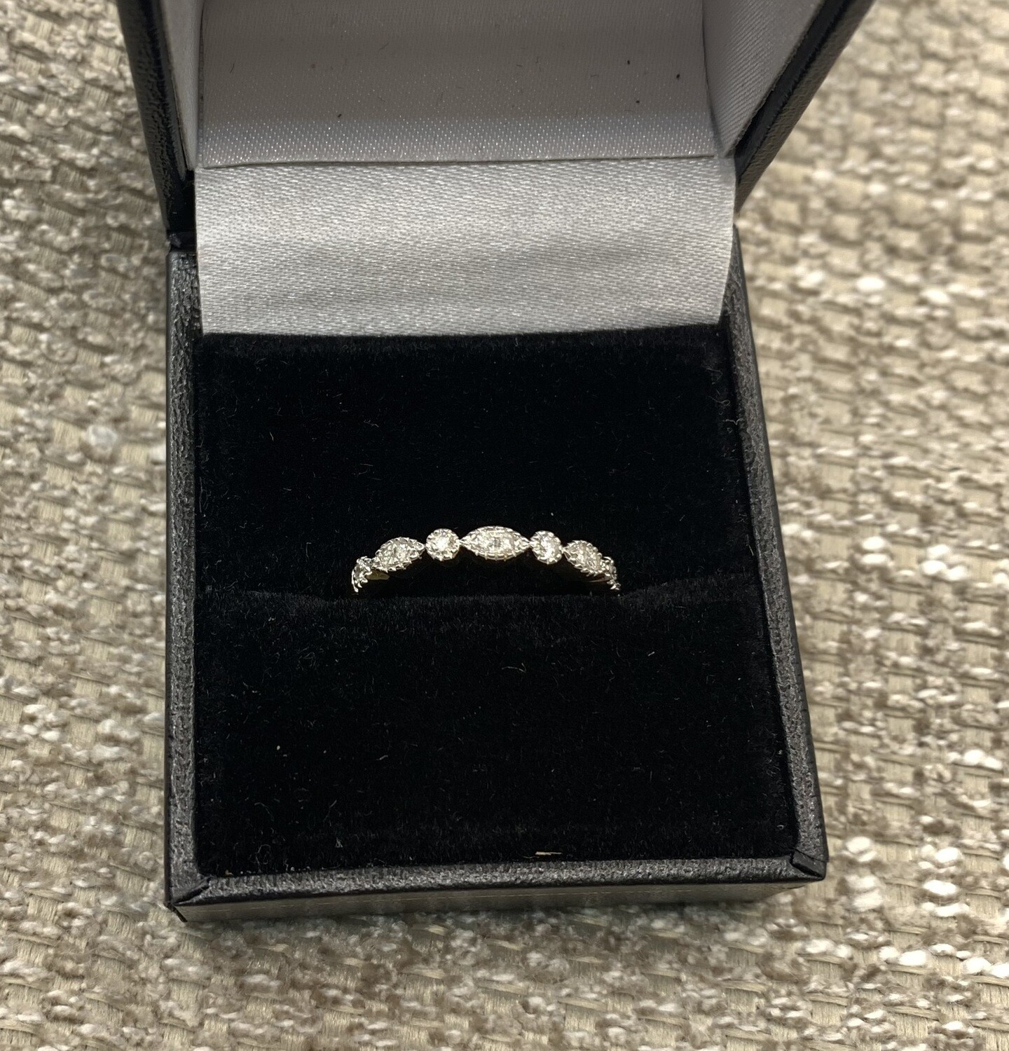 Fancy Diamond Anniversary/wedding Band