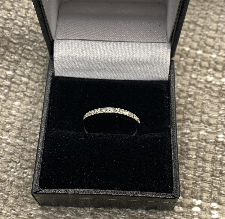 Diamond Anniversary/wedding Band