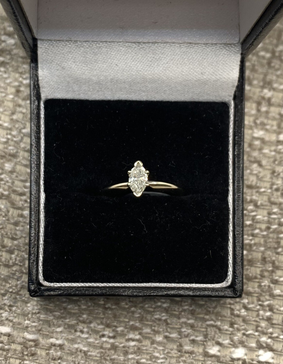 .40 Ct Marquis Solitaire Engagement Ring