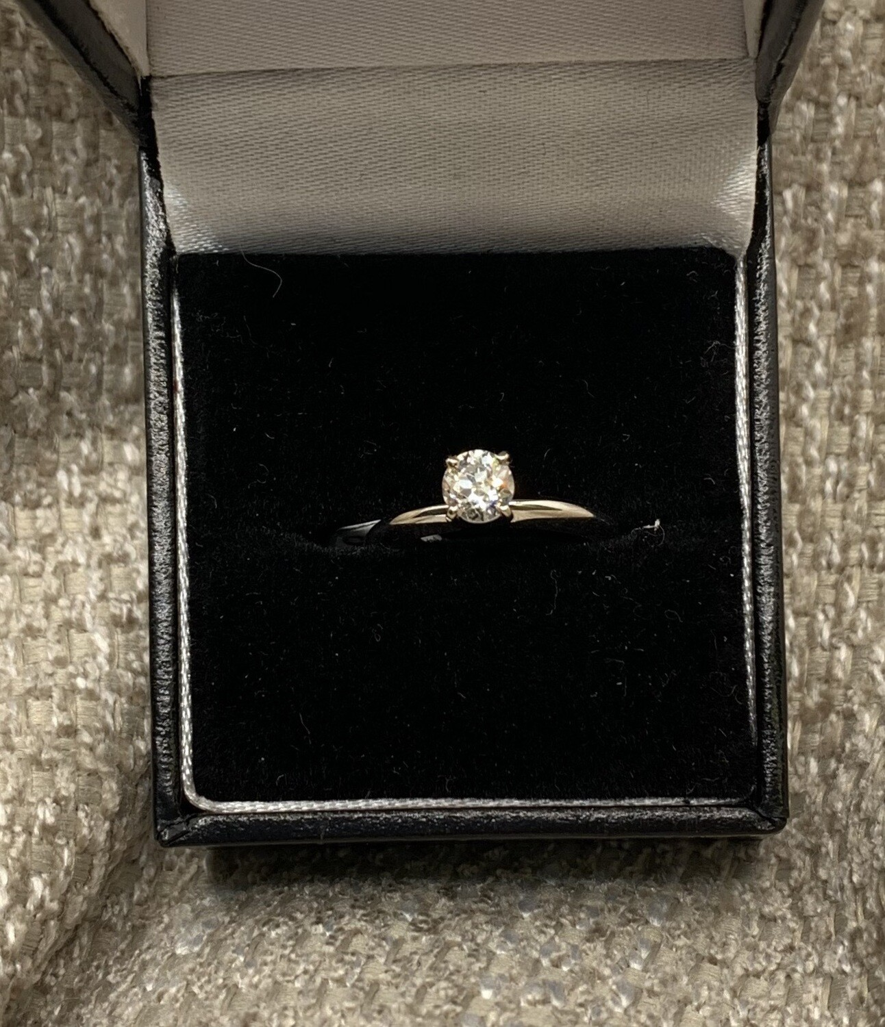 Diamond Solitaire 1/2 Ct Engagement Ring