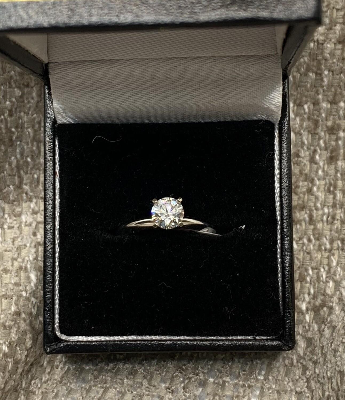.64 Ct Brilliant Solitaire Engagement Ring