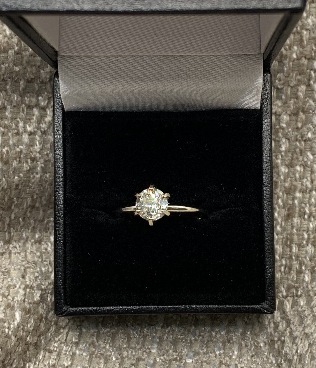1.16 Ct Brilliant Solitaire Engagement Ring