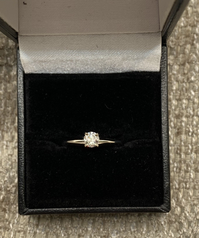 Diamond Solitaire Engagement