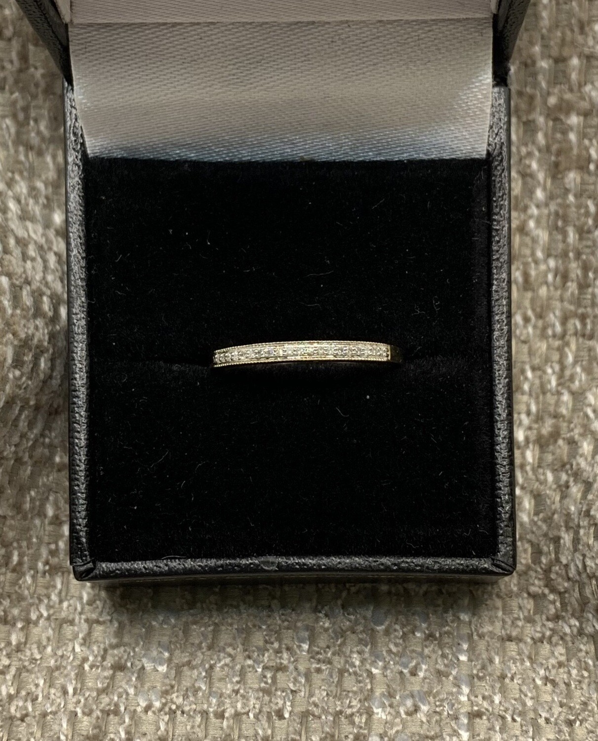 Diamond Wedding/anniversary Band