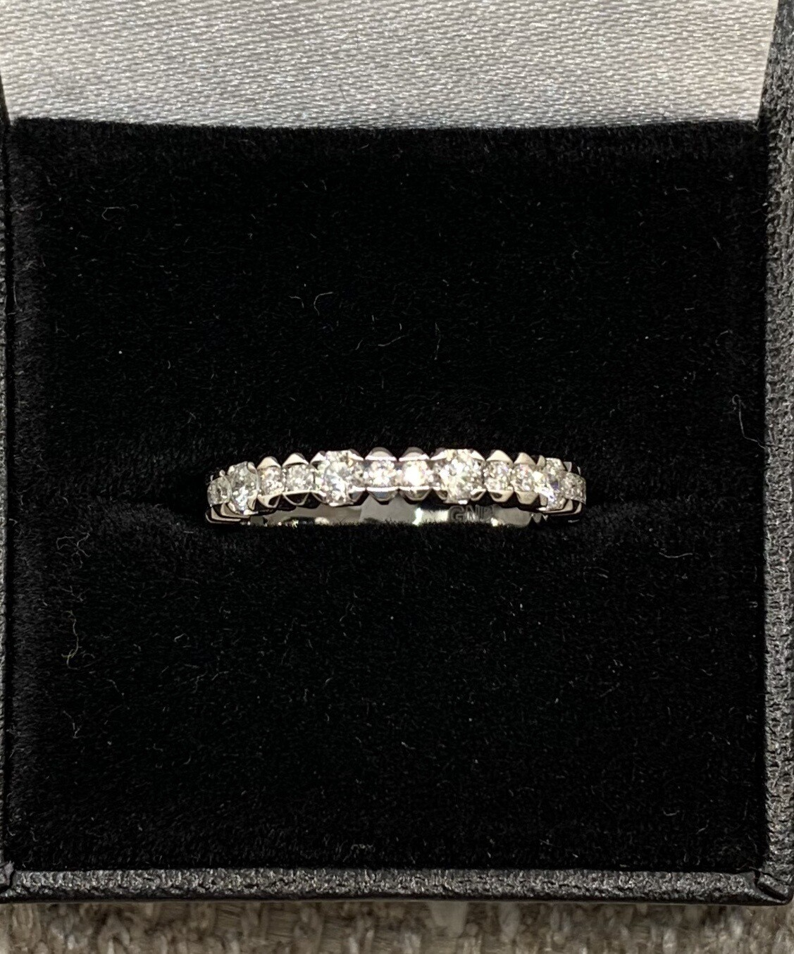 Diamond Wedding Anniversary Band