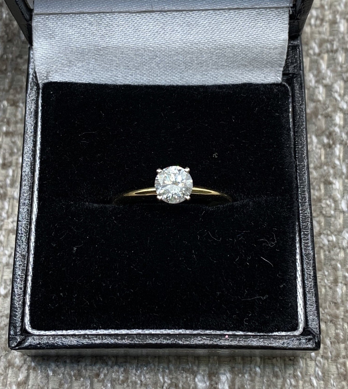.62 Ct Brilliant Solitaire Engagement Ring