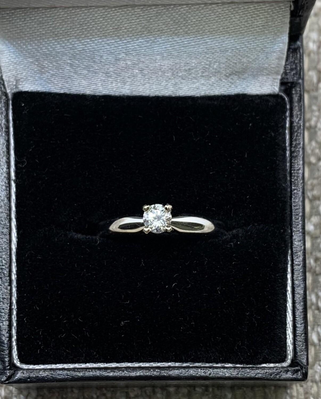 25 Ct Brilliant Solitaire Engagement Ring