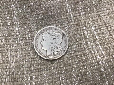 1890  O  MORGAN DOLLAR