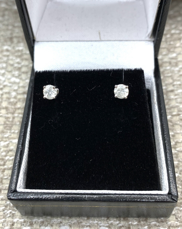 1/2 Ct Diamond Earrings
