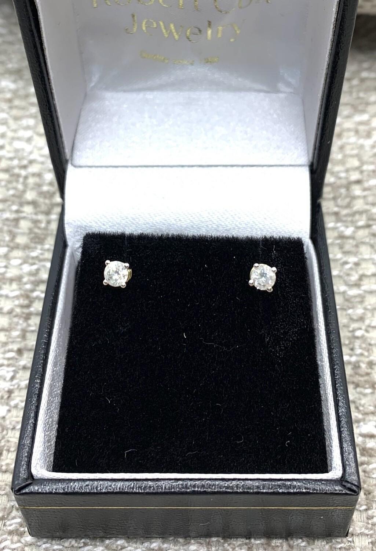 1/4 Ct Diamond Earrings