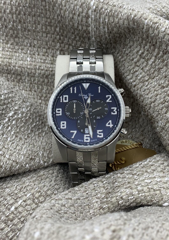 Stainless Robert Cox Signature Men's Watch Sapphire Crystal